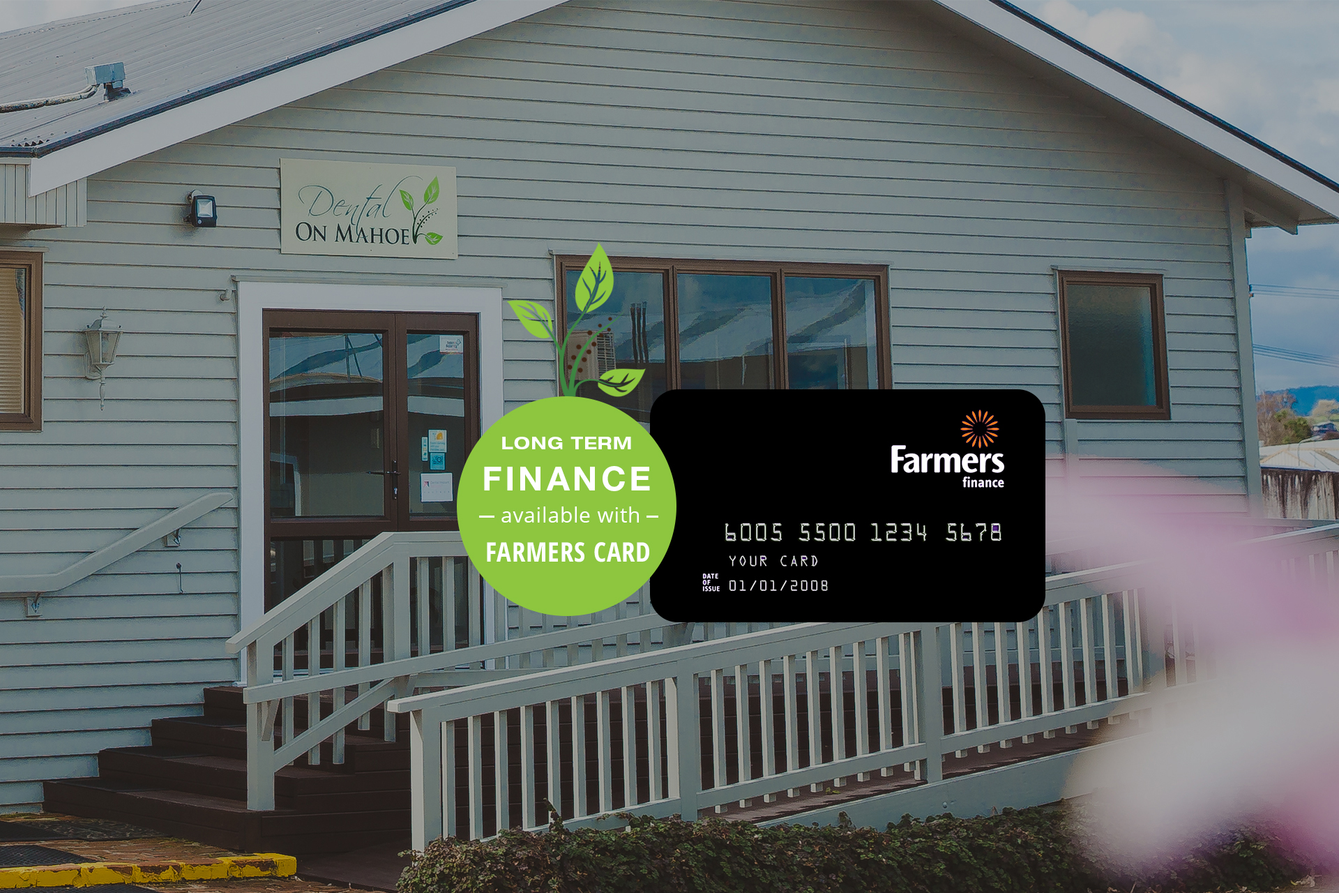Long Term Finance Farmers Card | Dental On Mahoe Te Awamutu